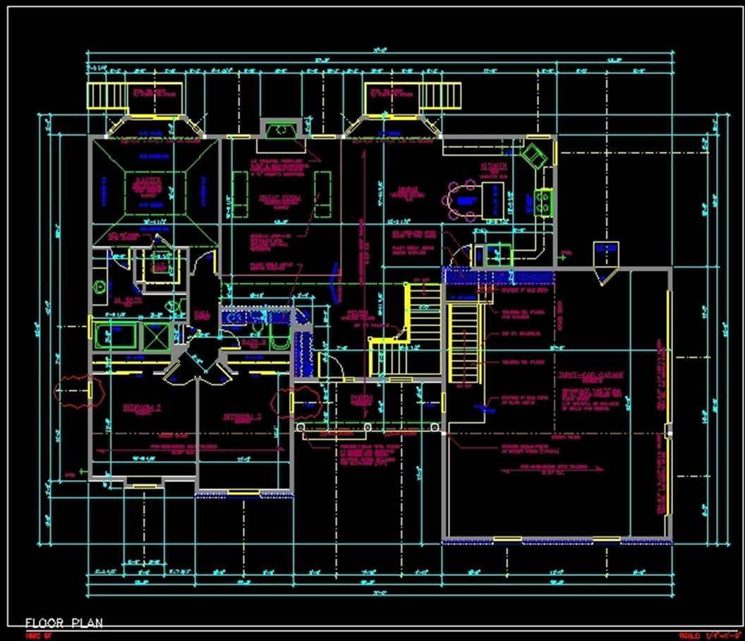 Cad building plans over 5000 house plans House cad drawings